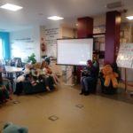 Dzień Pluszowego Misia w bibliotece - zabawa Niedźwiadek