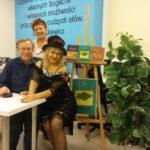 Mariusz Hantke, Wiesława Juchnowska, Dzidka Deptuła w programie poetycko-muzycznym