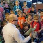 Spotkanie Cała Polska Czyta Dzieciom z redaktorem Echa Dnia