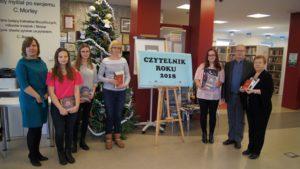 Laureaci konkursu Czytelnik Roku 2018