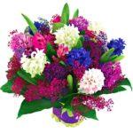 Bukiet kwiatów w podziękowaniu
