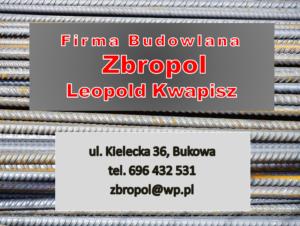 Zbropol Leopold Kwapisz reklama