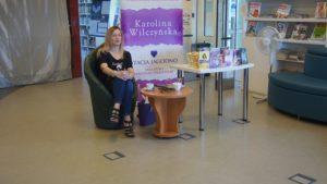 Spotkanie autorskie z Karoliną Wilczyńską