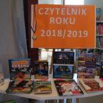Wyniki konkursu Czytelnik Roku 2018.2019
