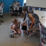 Wakacyjne zabawy w bibliotece