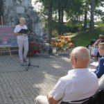 Narodowe Czytanie 2019 z pisarką Moniką Sawicką - czyta p. Anna Ciszek