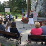 Narodowe Czytanie 2019 z pisarką Moniką Sawicką - czyta Danuta Libera