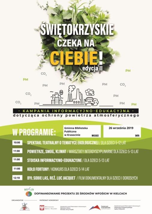 Zaproszenie na warsztaty ekologiczne