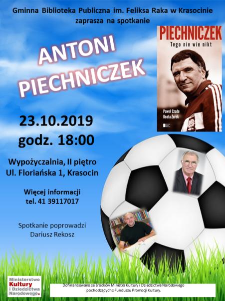 Piechniczek 23.10.2019 plakat