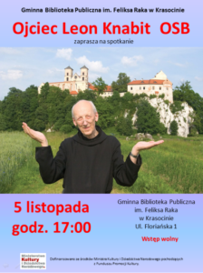 Zaproszenie na spotkanie z O. Leonem Knabitem 5.11
