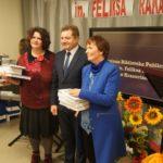 Wręczenie nagród laureatom XIII Ogólnopolskiego konkursu im. F. Raka