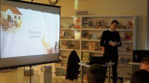 Spotkanie autorskie z Jakubem Skworzem