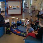 Krystian Pawłowski na spotkaniu z dziećmi CPCD